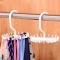 Tie/bra rotating hanger white one size