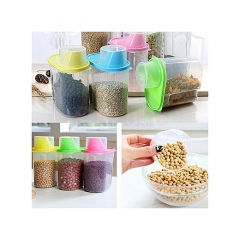 4 pieces cereal dispensers pink 2l