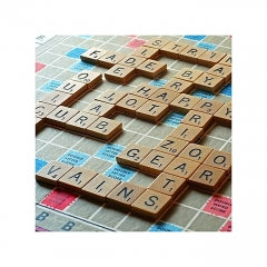 Scrabble Word Game Green