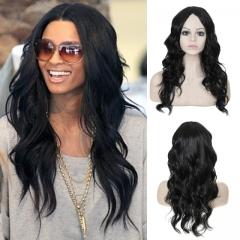 Synthetic Wigs Hair Wigs Women's Wigs Long Hair Body wave 27inch black 27inch