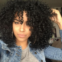 Synthetic Wigs Hair Wigs Women's Wigs Hair Curly 16inch black 16inch