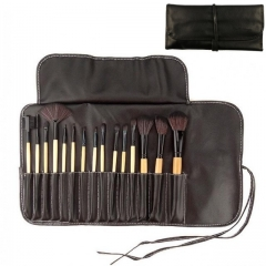15pcs/Set Makeup Brush Powder Brush/Eye Shadow Brush/Eyebrow Brush/Lip Brush Makeup Tools brown