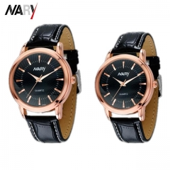2Pcs/Set Couple Watches New Style Men Watch Women Watch Quartz Fashion Accessories black one size