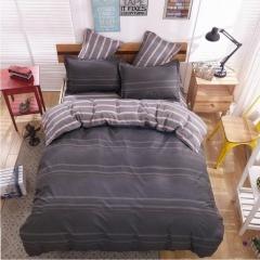 New Fashion Bedding Set 4pcs Duvet Cover(No Duvet) Pillowcases And Flat Sheet Home Bedroom brown 5*6