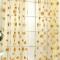 Sunflower Tulle Curtain Windows Curtain For Living Room Fabric Curtain Breathable Home Décor yellow 100cm x 200cm