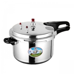 Hot Sale Pressure Cooker 5L Cookware For Kitchen silver 5L