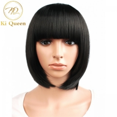 New Fashion Synthetic Bob Wigs Hair Wigs Women Wigs Hair Straight 12inch black 12inch