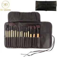 15Pcs/Set Makeup Brushes Powder Brush/Eye Shadow Brush/Eyebrow Brush/Lip Brush Makeup Beauty brown