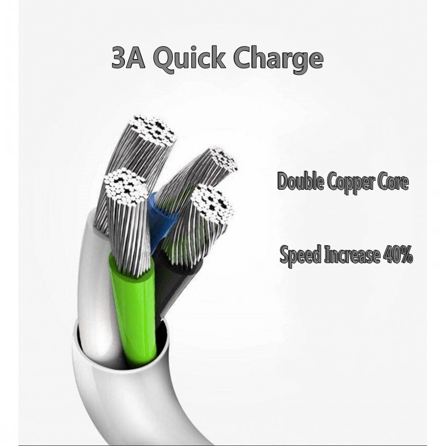 USB Data Cable Android Micro Universal Data Cable For Android 1M white 2
