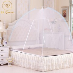 Mosquito Net Tent No Installation Foldable Bed Net For Bedding Room 5X6/6X6 Bed Size white 5*6(1.5m)