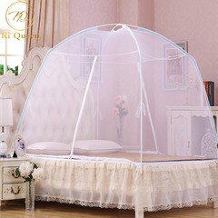 Mosquito Net Tent Foldable Bed Net For Bedding Room 5X6/6X6 Bed Size white 5*6(1.5m)