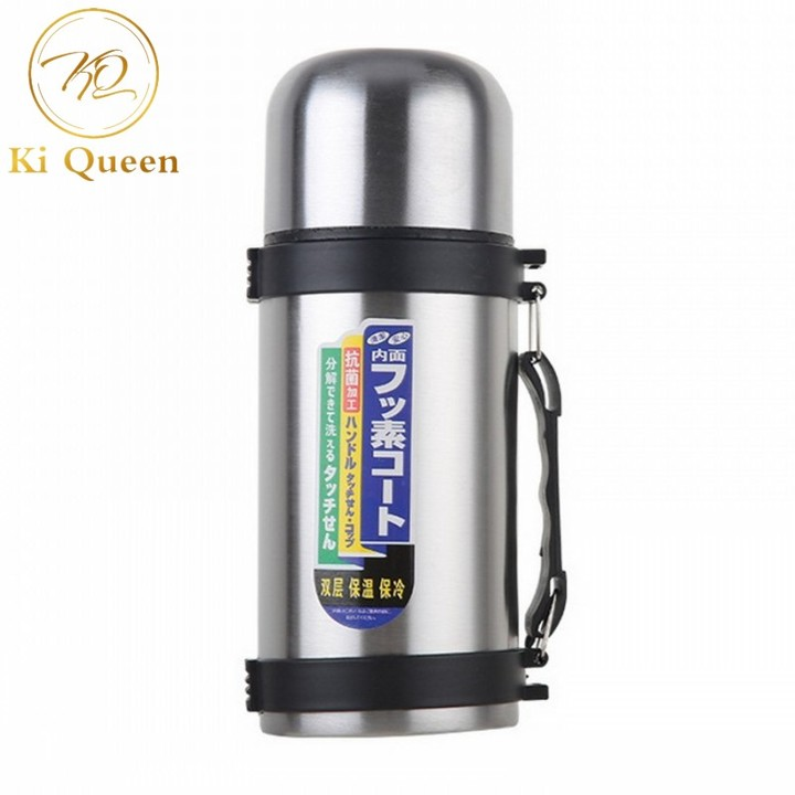 High Quality Stainless Steel Vacuum Thermos Bullet Thermal Water Bottle 500ml silver one size