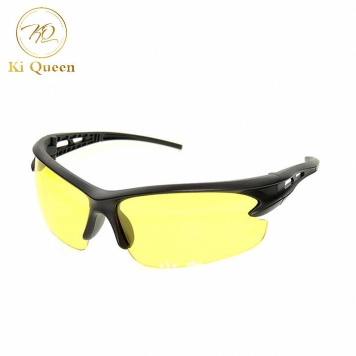 Men Sunglasses Car Driving Sunglasses Night Vision Glasses Men Fashion Accessories yellow one size