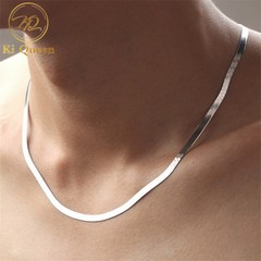 Men Necklace Women Necklace New Fashion Jewellery Men Jewelry gold one size