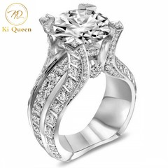 Classic Diamond Rings Women Fashion Jewelry For Wedding Jewellery Women Fashion Accessories as picture 5