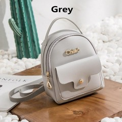 Women Fashion Handbags New Fashion Shoulder Bags Women Bags grey one size