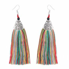 Women Tassel Earrings Women Fashion Jewellery Women Accessories Jewelry colors one size