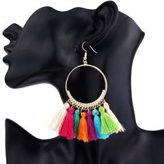 Women Tassel Earrings Women Fashion Jewellery Women Accessories Jewelry colors one size