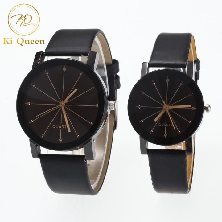 2Pcs/Set Couple Watches Fashion Watches Men Watches Women Watches Fashion Accessories as picture one size