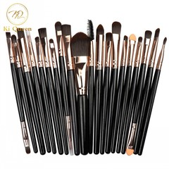 20Pcs/Set Makeup Brushes Powder Brush/Eye Shadow Brush/Foundation Brush/Concealer Brush Makeup Tools as picture