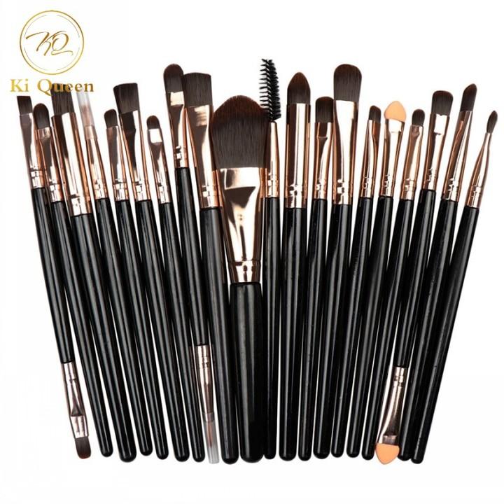 20Pcs/Set Makeup Brushes Powder Brush/Eye Shadow Brush/Foundation Brush/Concealer Brush Makeup Tools as picture