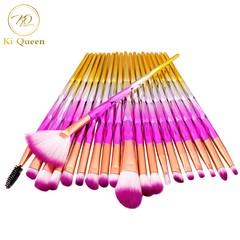 20Pcs/Set Makeup Brushes Powder Brush/Eye Shadow Brush/Foundation Brush Makeup Tools Beauty as picture
