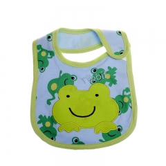 Cartoon Baby Bandana Bibs Waterproof Cotton Carters Kids Dinning Bibs Infant Cloths 7 package of 5