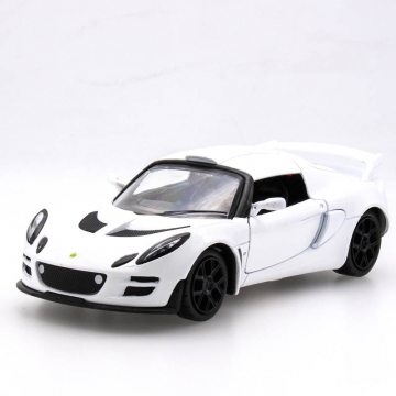 Colorful Car Simulation Alloy Back To The Car 1: 32 Model Lotus Flower Cool  Car