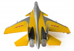 Children sound and light back to power toy aircraft model alloy annihilate fifteen fighter random one size