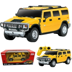 Children 's Hummer puzzle remote control car toy car model random one size