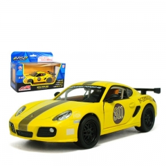 Children 's Toys 1:32 Porsche Camman Alloy Toy Model yellow one size