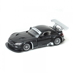 Children's toys 1:24 BMW Z4 GT3 simulation alloy car model sports car model black one size