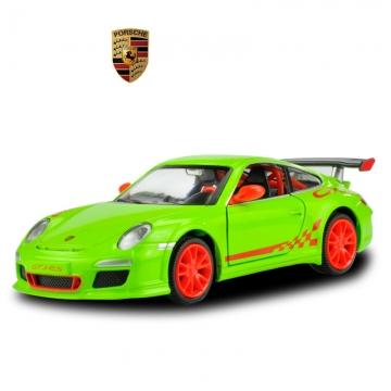 Children 's toys simulation alloy car models back to power toys Porsche 911GT3RS random one size