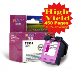 Ink Cartridge 901 Tri-color With HP Officejet J4580/4540/4500/4560/4640 4660/4680