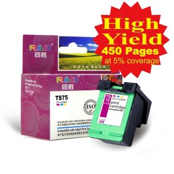 Ink Cartridge 75 Tri-color With HP Deskjet 4260 HP Officejet J5780 HP Photosmart c4280/5280/d5360