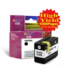 Ink Cartridge 932XLBK Black With HP officejet 6100 6600 6700 7110 7610 7612