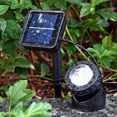 Outdoor waterproof LED solar lights floodlights flood light garden lights diving pot lights one size one size