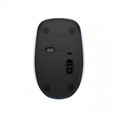 HP Wireless Optical Mouse + USB Receiver - Black blue 2*4