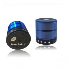 Generic Bluetooth Speaker WS887 Support TF/U Disk, Wireless Mini Speaker - Blue blue 2 1