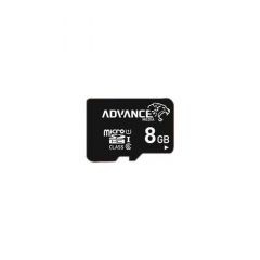 Advance 8GB Micro SD Memory Card - Black black advance 8gb advance