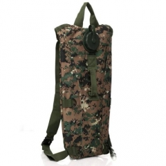 Hydration Pack Bladder Water Bag Pouch Hiking Climbing Outdoor Backpack CE Camouflage Normal