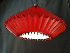 Lampshade Flacone red normal