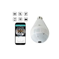 CCTV Camera Bulb WHITE NORMAL