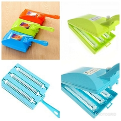 Carpet Cleaning Brush with 3 Rollers-Very Efficient BLUE,GREEN&RED normal