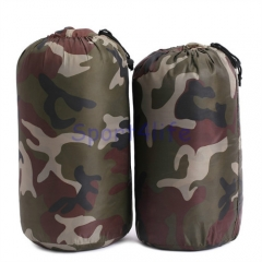 Waterproof Military Camouflage Polyester Cotton Envelope Outdoor Camping Hiking Sleeping Bags Camouflage Color for outdoor sports