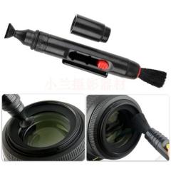 Lens Pen SLR Clean Pen Wipe Lens of Your Camera Lens Pen Large Round Head Cleaning Pen Black