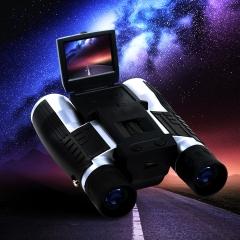 HD Binocular Telescope 12 Times High-definition Digital Telescope for Tourist/Outdoor Black