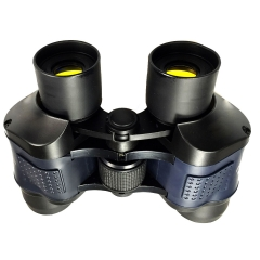 Binocular Telescope 60X60 High Clarity 3000M Observation Night Vision Optical Green Film Binoculars Black