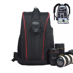 New DSLR Camera Bag Digital SLR travel Backpack with All Weather Cover for Nikon Canon Black-Big