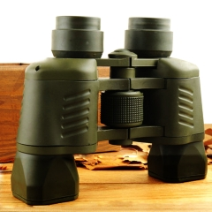 Binoculars with Coordinate LLL Night Vision Outdoor High Power High-definition Telescope Army Green